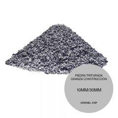 Piedra triturada granza construccion entre 10mm/30mm granel x/m³