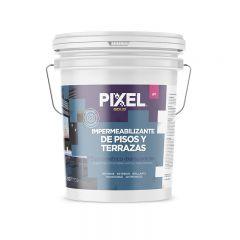 Impermeabilizante elastomerico pisos y terrazas IPT transparente balde x 10l