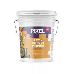 Pintura latex acrilico exterior ME-400 premium lavable antihongos antimancha blanco mate balde x 10l