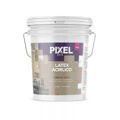 Pintura latex acrilico interior acrilico MI-150 lavable antihongos blanco mate balde x 10l