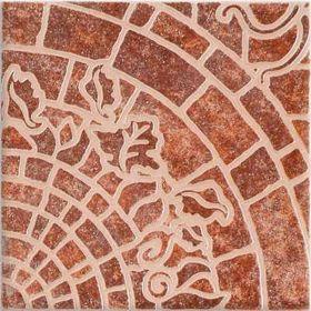 Piso ceramico adoquinado fiorentino borde sin rectificar 9mm x 400mm x 400mm x 11u caja x 1.76m²