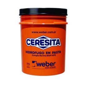 Aditivo hidrofugo Ceresita en pasta balde x 10kg