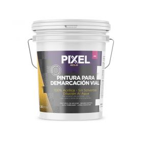 Pintura demarcacion vial acrilico PDV alta visibilidad larga duracion sin solventes blanco balde x 20l
