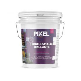 Hidroesmalte acrilico HEB multi-superficies secado rapido interior/exterior blanco brillante balde x 10l