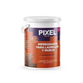 Impregnante impermeabilizante ladrillos y muros ILM interior/exterior transparente satinado balde x 4l