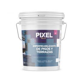 Impermeabilizante elastomerico pisos y terrazas IPT transparente balde x 20l