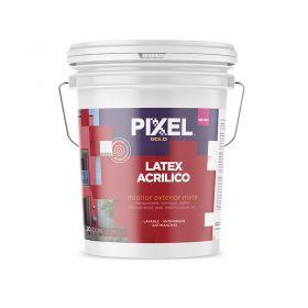Pintura latex acrilico interior/exterior MIE-300 lavable antihongos antimancha blanco mate balde x 20l