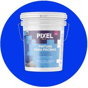 Pintura latex acrilico PP-200 piscinas/piletas azul mate balde x 10l