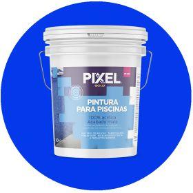 Pintura latex acrilico PP-200 piscinas/piletas azul mate balde x 20l